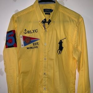Men polo ralph lauren shirt sz M